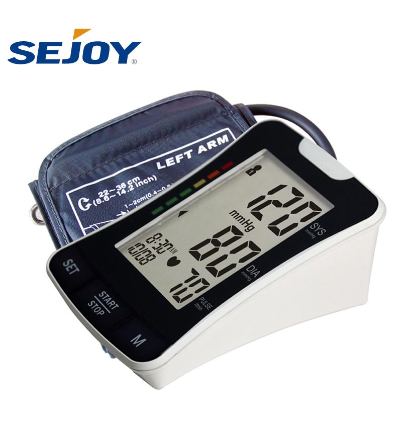 2018 Health Medical Digital Wireless Upper Arm Blood Pressure Monitor