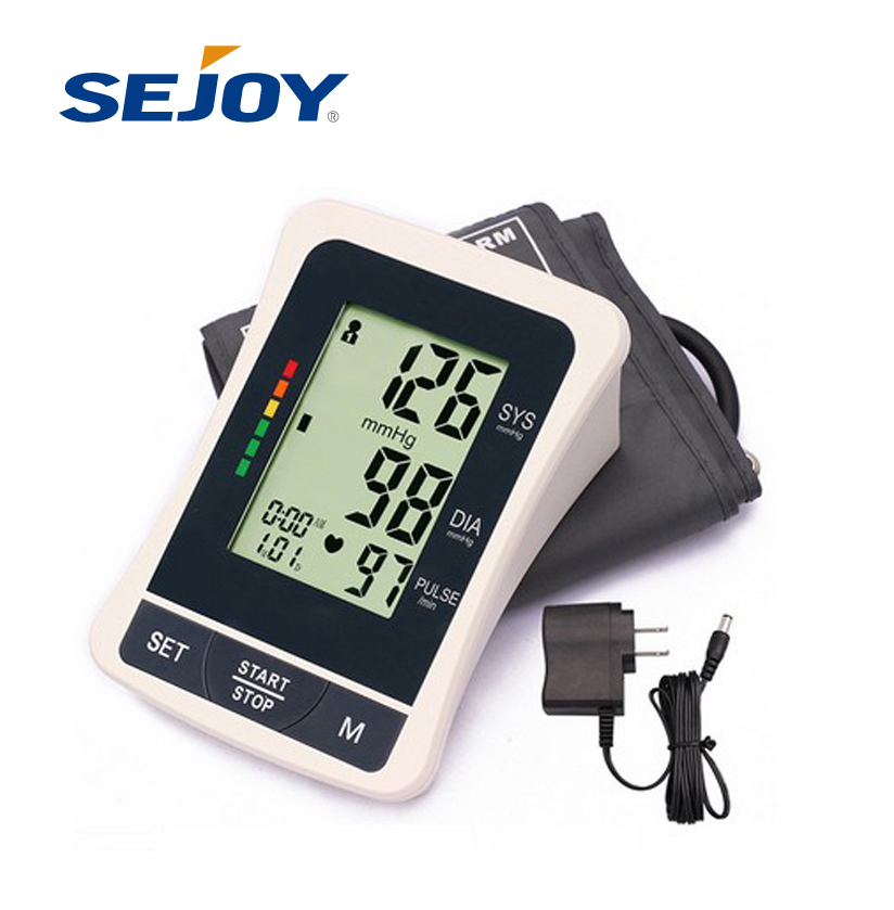 Digital LCD Arm Fully Automatic WHO Indicator Blood Pressure Monitor