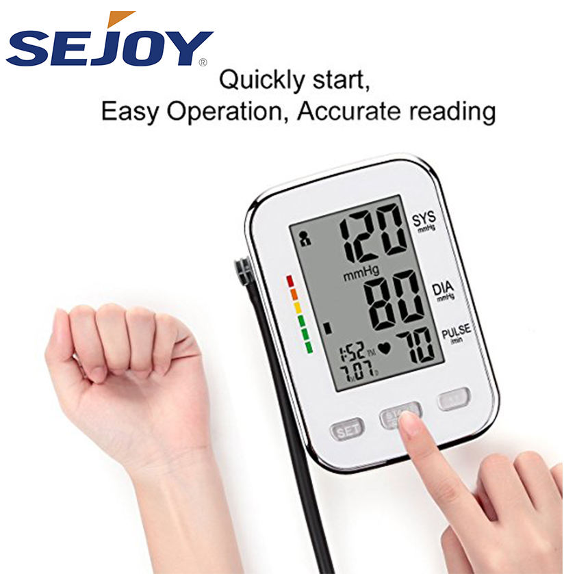 Smart Heart Rate Digital BP Machine Blood Pressure Monitor