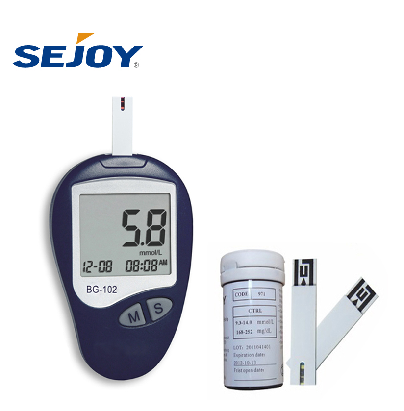 CE Certified Home Use No Code Digital New Design Blood Glucose Meter