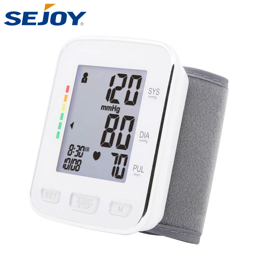 Medical Testing Suppliers Latest Arrival Wrist Watch Blood Pressure Meter