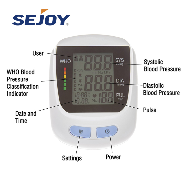A Best Quality Medical Digital Blood Pressure Monitor