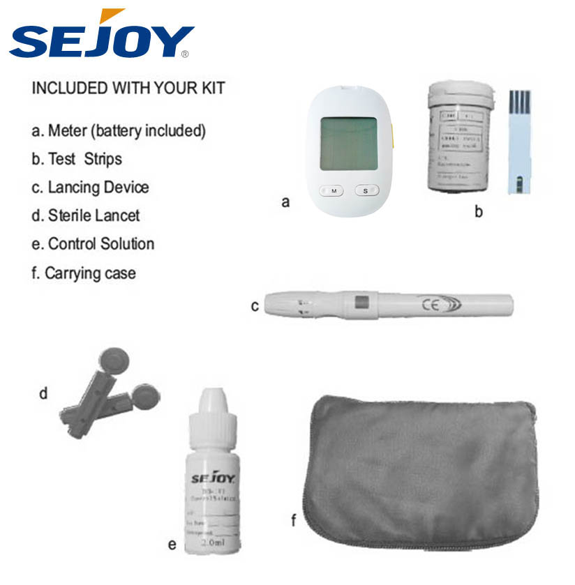 Professional Manufacturer New Design Blood Glucose Meter