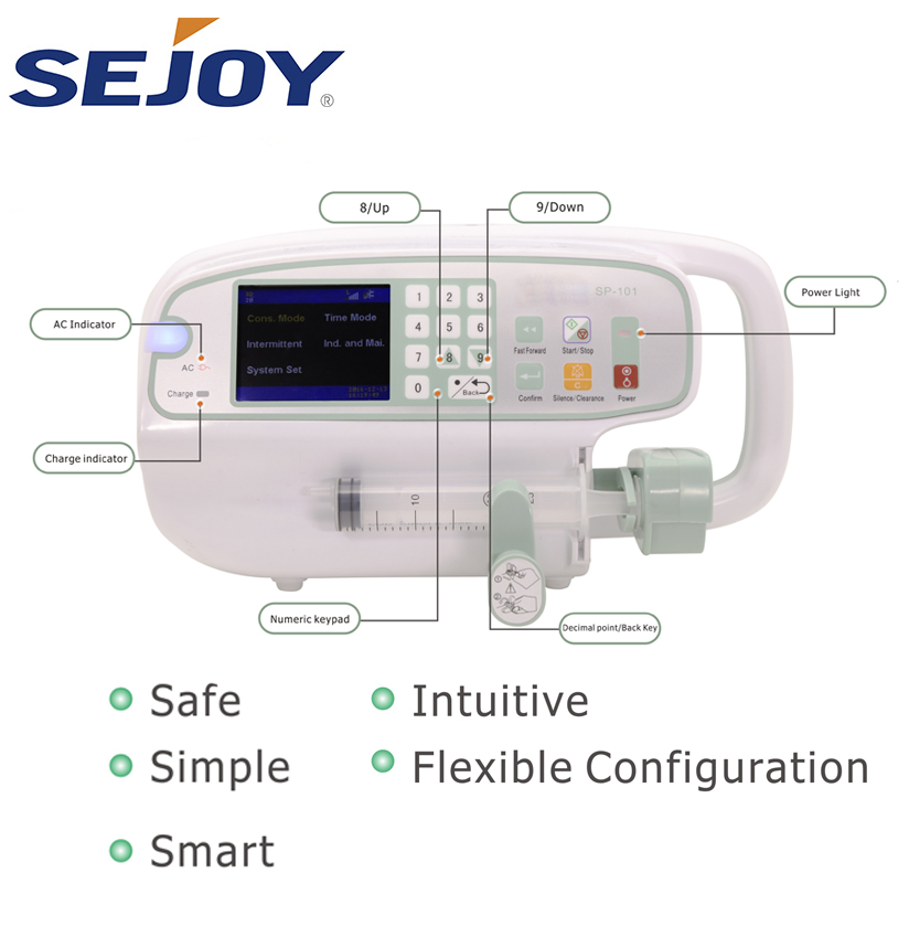 Accurate Medical Programmable Digital Electric Single Syringe Pump