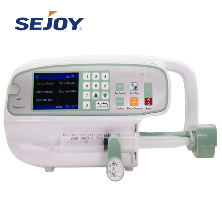 Medical Grade Hospital Elektron Single Şpris Pump