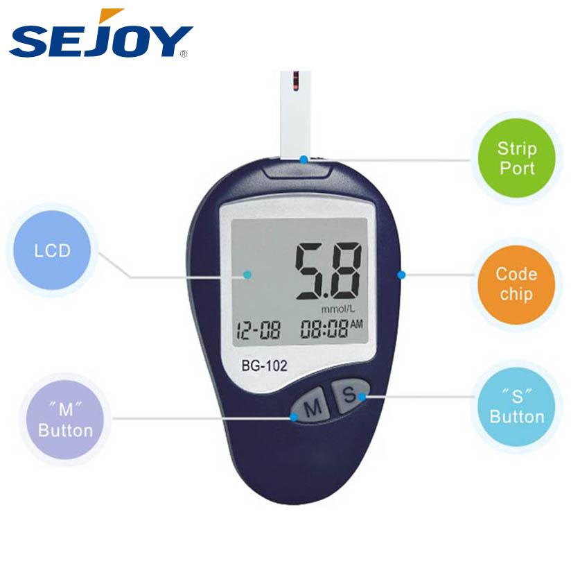 Wholesale Blood Glucometer Diabetic Test Strips Glucose